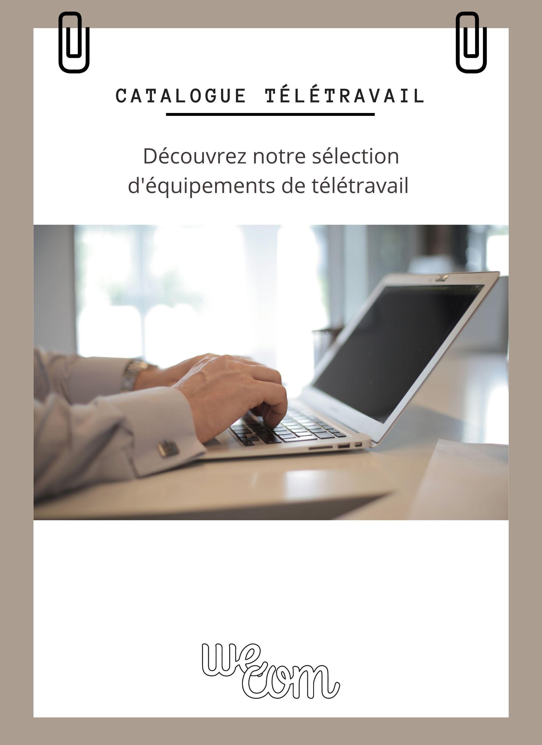 Catalogue teletravail cover